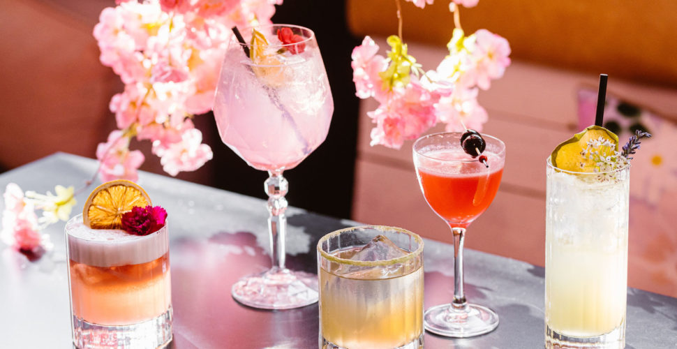 Cherry Blossom Cocktails Sydney